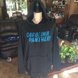 Men's Nike Carolina panthers sweatshirt